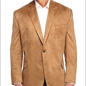 NWT Chamois Suede Polo Ralph Lauren Jacket, 42 Reg